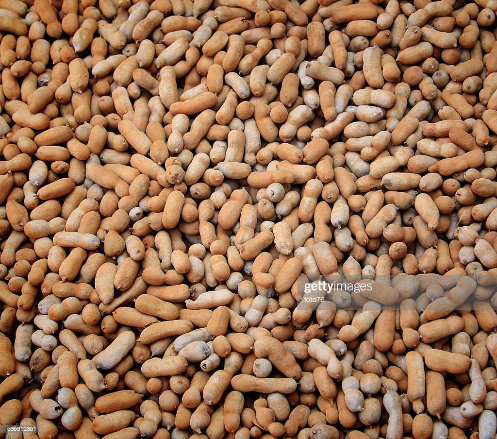 Tamarind fruit background : Stock Photo