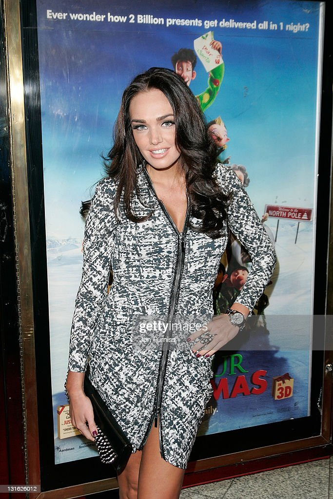 Tamarra Ecclestone attends the UK premiere of \'Arthur Christmas\' at ...