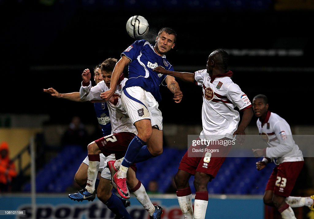 Ipswich Town v Northampton Town - Carling Cup