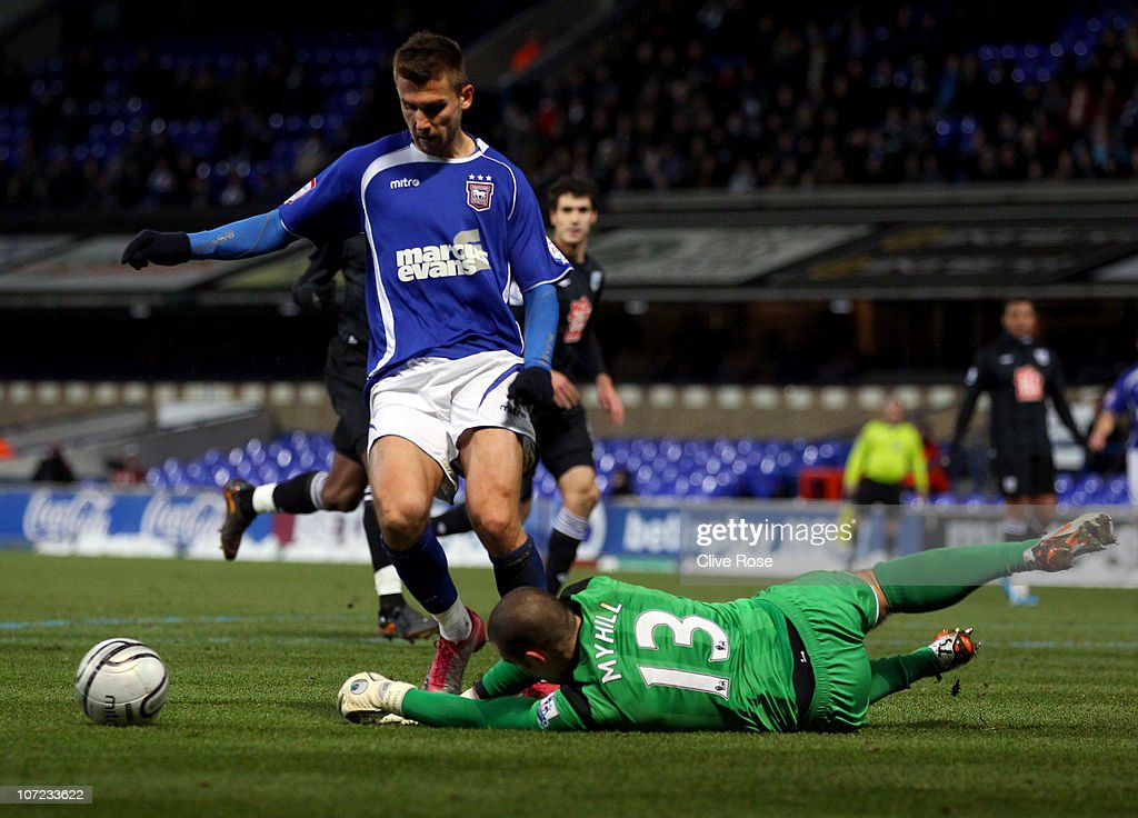 Ipswich Town v West Bromwich Albion - Carling Cup Quarter Final