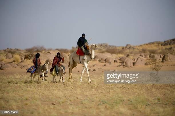 Tamashek Tuaregs in Essouk They are nomadic pastoralists