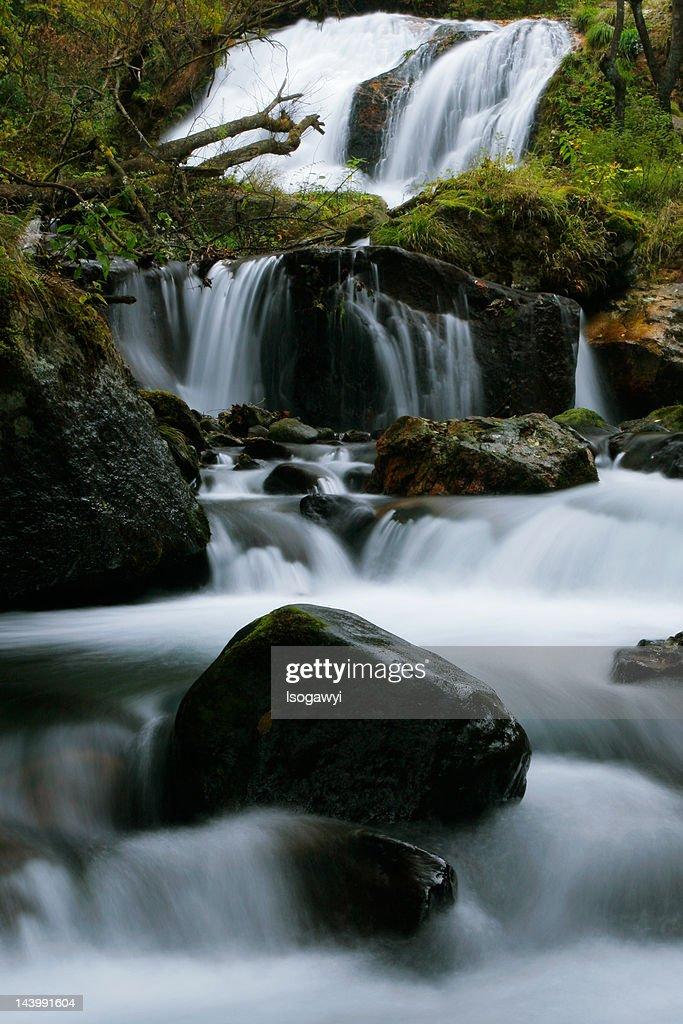 Tamasudare Falls : ストックフォト