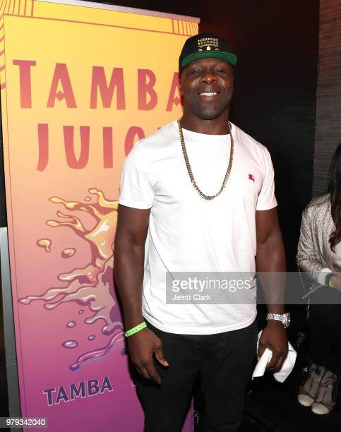 Tamba Hali attends his EP Release Party at Murano on June 19 2018 in West Hollywood California