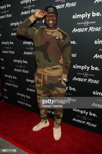 Tamba Hali attends the Amber Rose x Simply Be Launch Party at Bootsy Bellows on June 20 2018 in West Hollywood California