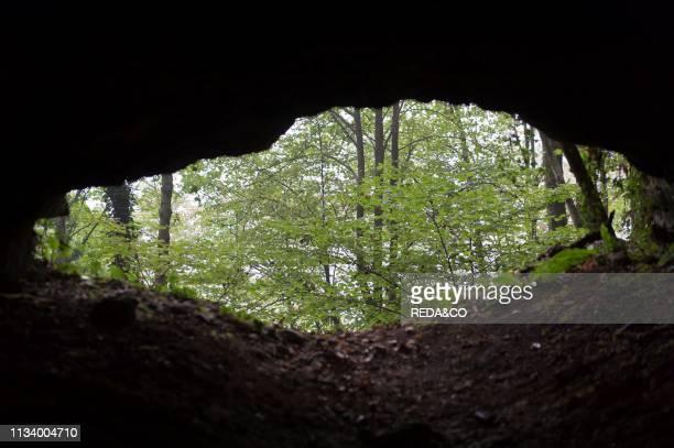 Tamba of Laxolo cave, Laxolo, Lombardy, Italy, Europe.