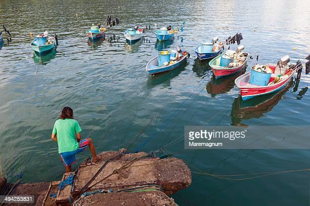 tambor, the seaport - península de nicoya fotografías e imágenes de stock
