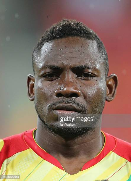 Tamboura Adama of Mali during the 2013 Africa Cup of Nations Third Place PlayOff match between Mali and Ghana on February 9 2013 in Port Elizabeth...
