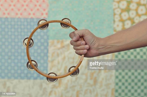 tambourine - tambourine stock photos and pictures