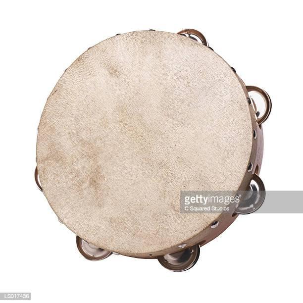 tambourine - tambourine foto e immagini stock