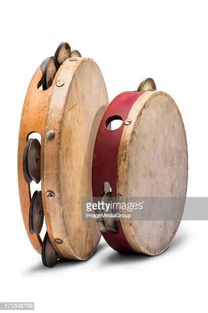 tambourines - tambourine stock photos and pictures