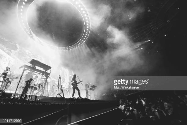 Tame Impala Performs At The Forum at The Forum on March 10, 2020 in Inglewood, California.