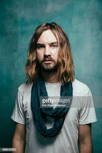 Tame Impala poses for a portrait at the Governors Ball 2015 Music Festival for Billboard Magazine on June 6 2015 in New York City