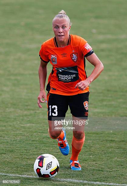 Tameka Butt of the Roar during the round 10 W-League match between Brisbane and Melbourne at AJ Kelly Field on January 1, 2017 in Brisbane, Australia.