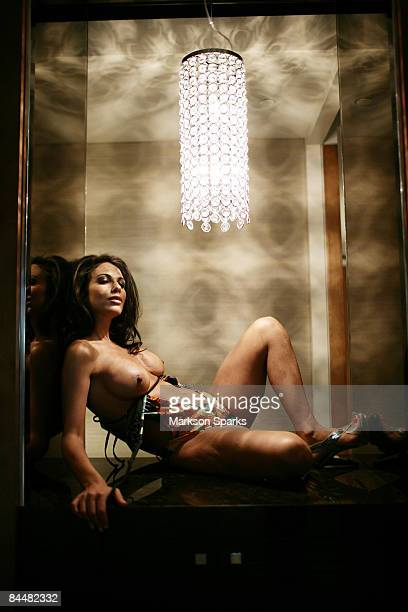 Tameka Dean poses during a photo session at the Crown Towers Hotel on November 21 2008 in Melbourne Australia Tameka was recently awarded the title...