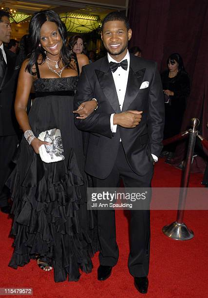 Tameka Foster and Usher Raymond during 2007 Trumpet Awards Celebrate African American Achievement at Bellagio Hotel in Las Vegas, Nevada, United...