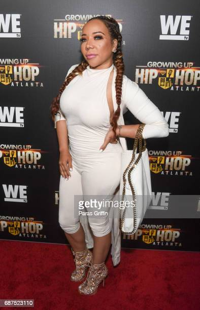 "Tameka Harris attends ""Growing Up Hip Hop Atlanta"" Atlanta Premiere at Woodruff Arts Center on May 23, 2017 in Atlanta, Georgia."