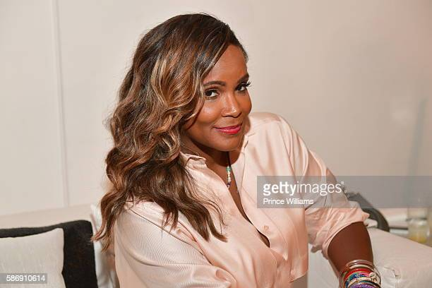 Tameka Raymond attends Cocktails with Claire at B Loft Atlanta on August 6 2016 in Atlanta Georgia