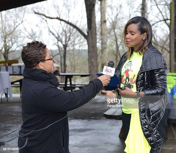Tameka Raymond attends Kile's World 5K Run/Walkat Chastain Park Amphitheater on March 29 2014 in Atlanta Georgia