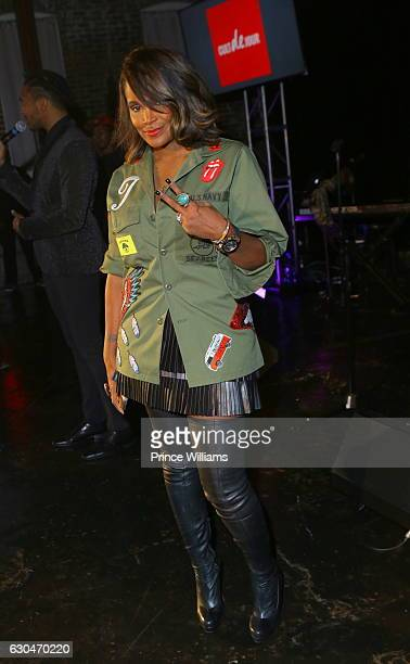 Tameka Raymond attends the 9th annual Celebration 4 A Cause at King Plow Arts Center on December 22 2016 in Atlanta Georgia