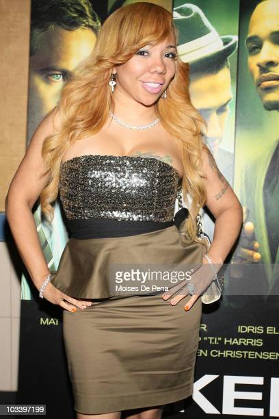 Tameka 'Tiny' Cottle attends a special screening of 'Takers' at Regal EWalk on August 15 2010 in New York City