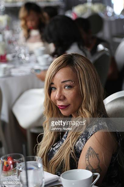 Tameka 'Tiny' CottleHarris attends MILF Celebration Of Entertainment Mothers on February 6 2015 in Beverly Hills California