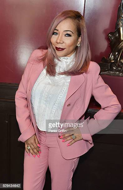 Tameka 'Tiny' Harris attends her 3rd Annual Mother Daughter Brunch Pageant at Scales 925 Restaurant on May 8 2016 in Atlanta Georgia