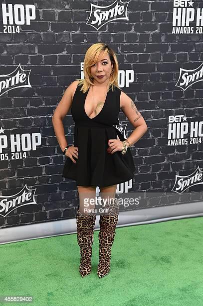 "Tameka ""Tiny"" Harris attends the BET Hip Hop Awards 2014 at Boisfeuillet Jones Atlanta Civic Center on September 20, 2014 in Atlanta, Georgia."