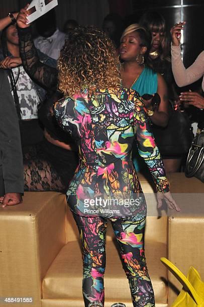 Tameka 'Tiny' Harris attends the 'Honest' Album Release party at Vanquish on April 22 2014 in Atlanta Georgia