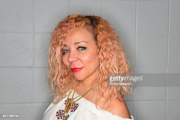 "Tameka ""Tiny"" Harris Poses for a Portrait At Birthday Bash at Philips Arena on June 18, 2016 in Atlanta, Georgia."