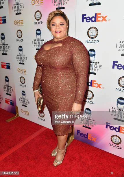 Tamela Mann at the 49th NAACP Image Awards NonTelevised Awards Dinner at the Pasadena Conference Center on January 14 2018 in Pasadena California