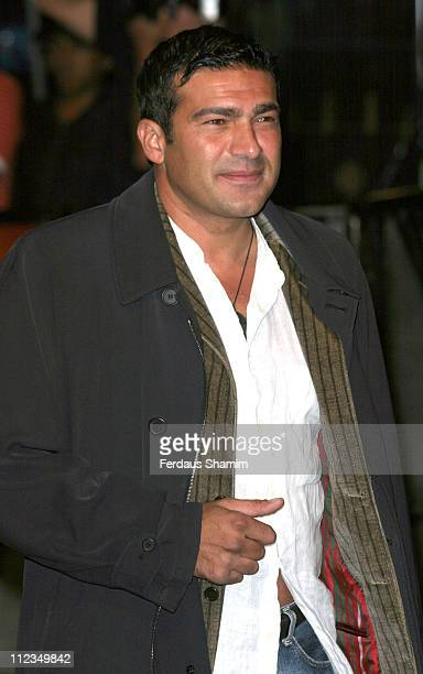 """Tamer Hassan during """"Goal!"""" London Premiere - Arrivals at Odeon Leicester Square in London, Great Britain."""