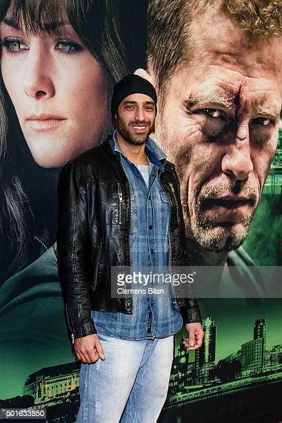 Tamer Trasoglu attends the 'Tatort Der Grosse Schmerz' premiere in Berlin at Kino Babylon on December 16 2015 in Berlin Germany