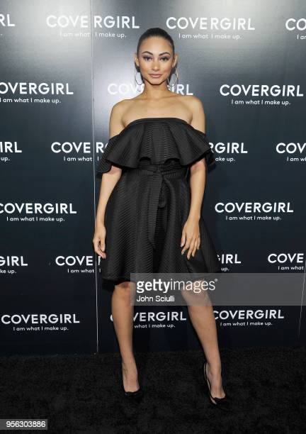 Tamera Kissen attends a COVERGIRL sneak peek to their Fall 2018 Makeup line with COVERGIRL'S SVP Ukonwa Ojo on May 8 2018 in Los Angeles California