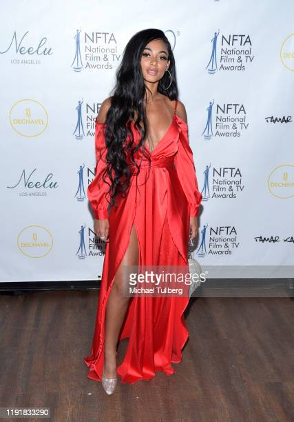 Tamera Kissen attends the 2nd annual National Film and TV Awards at Globe Theatre on December 03 2019 in Los Angeles California
