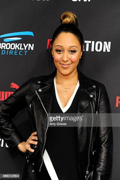 Tamera Mowry attends the Roc Nation Grammy Brunch 2015 on February 7 2015 in Beverly Hills California