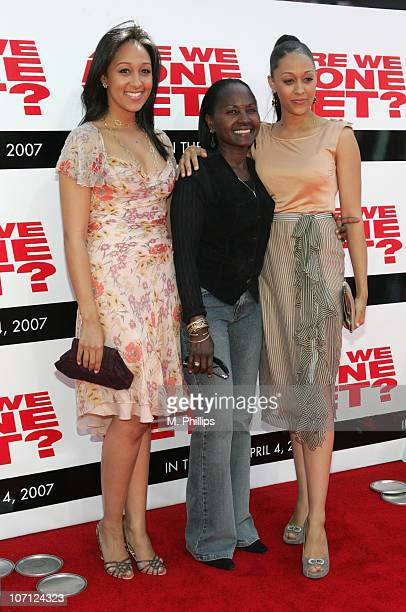 Tamera Mowry Darlene Mowry and Tia Mowry during The Premiere of Revolution Studios' and Columbia Pictures' Are We Done Yet Arrivals at Mann Village...