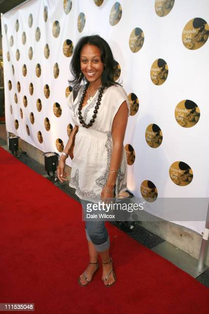 Tamera Mowry during Molly Sims 4th Annual Night with the Friends of El Faro at The Music Box Henry Fonda Theatre in Hollywood California United States