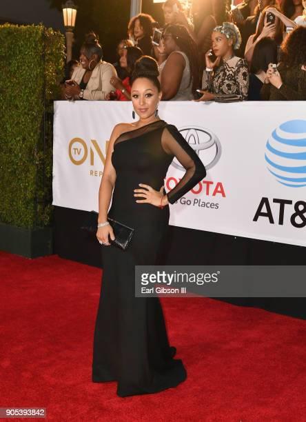 Tamera MowryHousley at the 49th NAACP Image Awards on January 15 2018 in Pasadena California