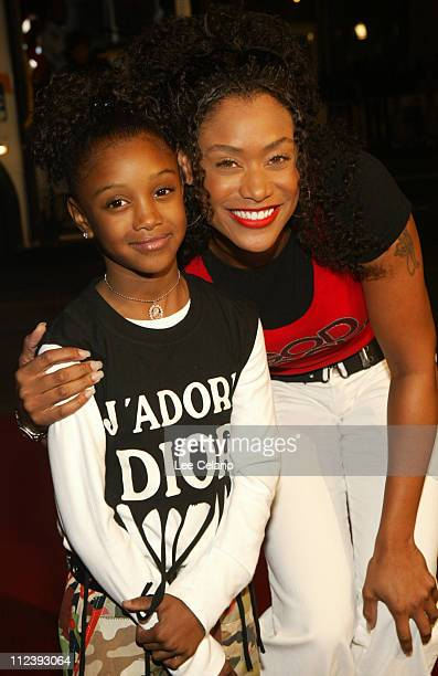 Tami Anderson and daughter Kenni during Love Don't Cost a Thing Los Angeles Premiere Red Carpet at Mann's Chinese Theatre in Hollywood California...