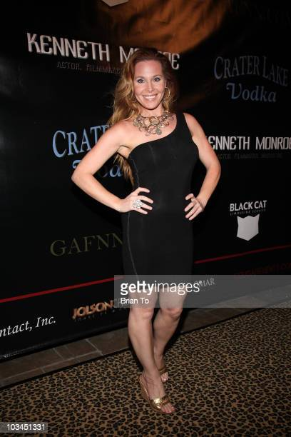 Tami Erin attends cougar style soiree hosted by Cougar Town star Carolyn Hennesy at Hotel Palomar on August 18 2010 in Los Angeles California