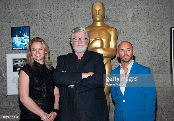Tami Lane Peter Swords King and Rick Findlater attends The Academy Of Motion Picture Arts And Sciences Presents Oscar Celebrates Makeup And...