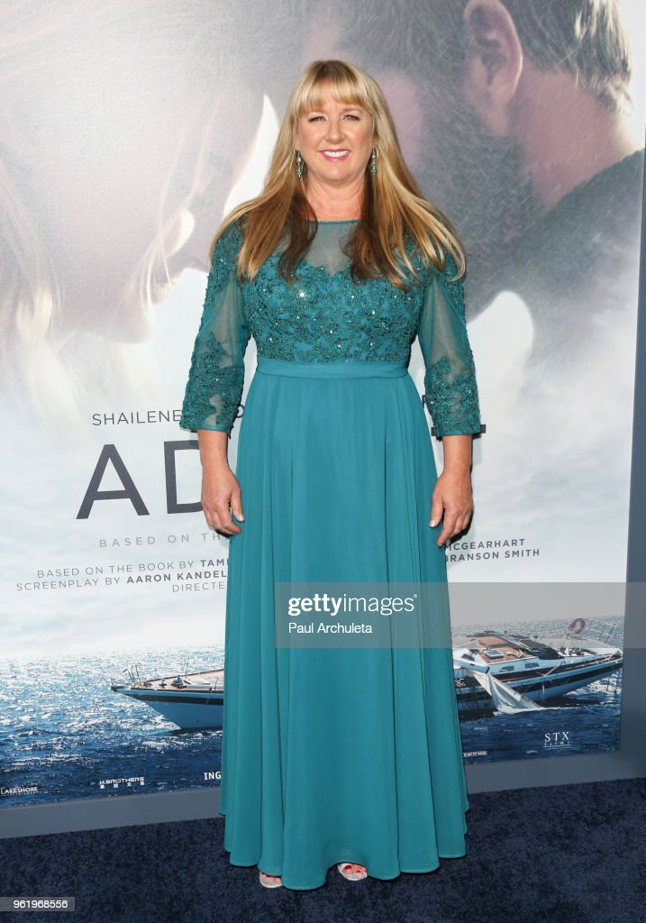 Tami Oldham Ashcraft attends the premiere of STX Films' 'Adrift' at Regal LA Live Stadium 14 on May 23, 2018 in Los Angeles, California.