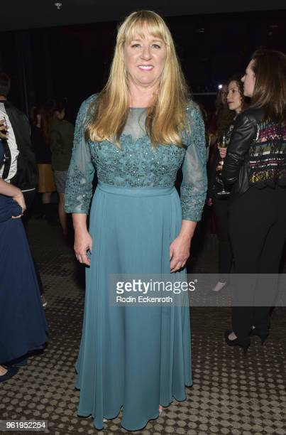 Tami Oldham Ashcroft poses for portrait at the premiere of STX Films' 'Adrift' after party at Regal LA Live Stadium 14 on May 23 2018 in Los Angeles...