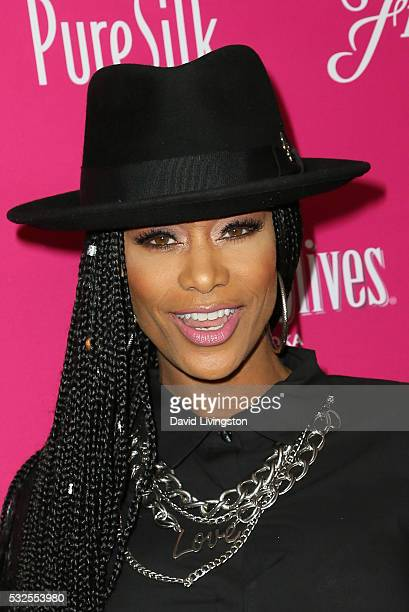 Tami Roman arrives at the OK Magazine's So Sexy LA at the Skybar at Mondrian on May 18 2016 in West Hollywood California