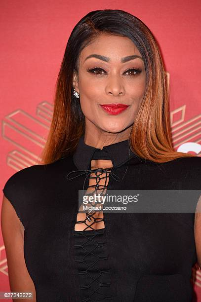 Tami Roman attends the 2016 VH1's Divas Holiday Unsilent Night at Kings Theatre on December 2 2016 in New York City
