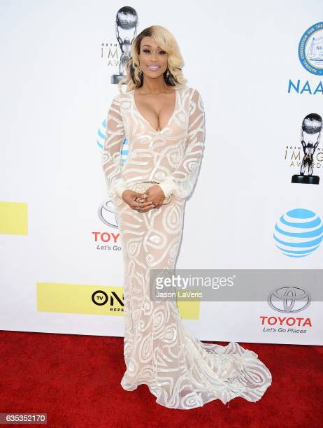 Tami Roman attends the 48th NAACP Image Awards at Pasadena Civic Auditorium on February 11 2017 in Pasadena California