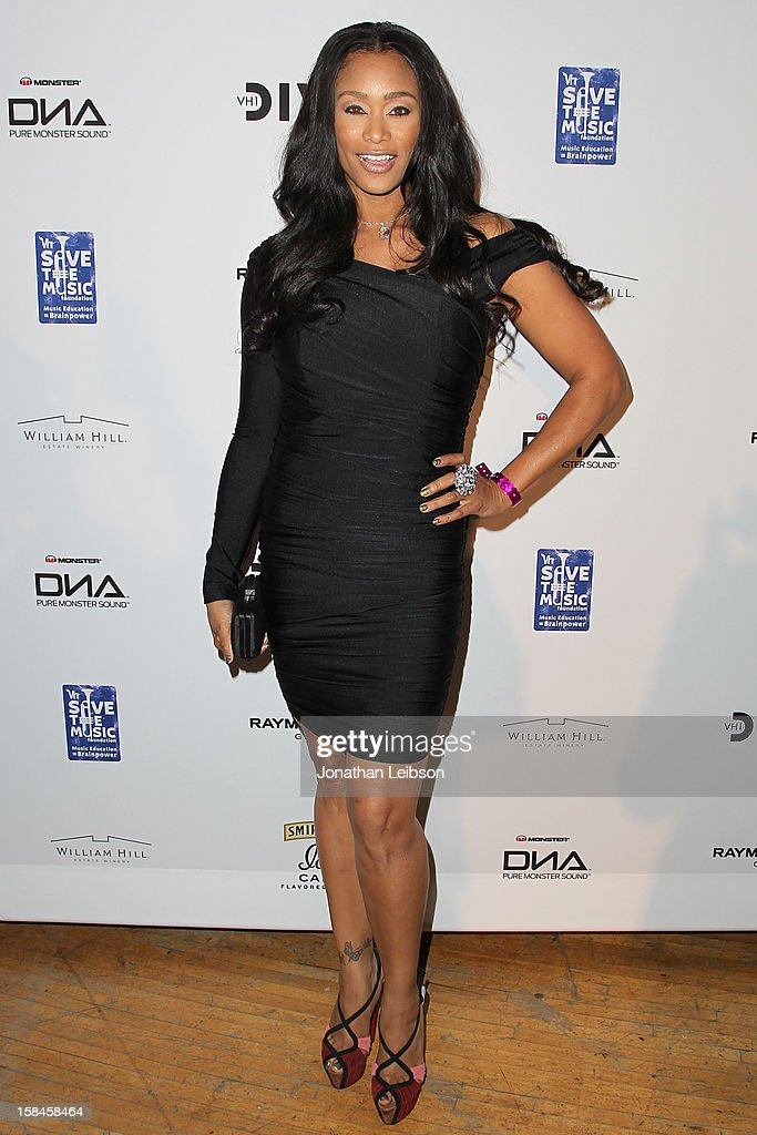 Tami Roman attends the VH1 Divas After Party To Benefit The VH1 Save The Music Foundation at The Shrine Auditorium on December 16, 2012 in Los Angeles, California.