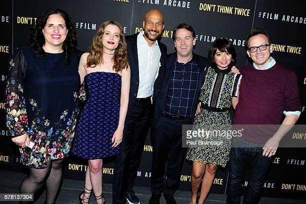 Tami Sagher Gillian Jacobs KeeganMichael Key Mike Birbiglia Kate Micucci and Chris Gethard attend the New York Premiere of The Film Arcade and Cold...