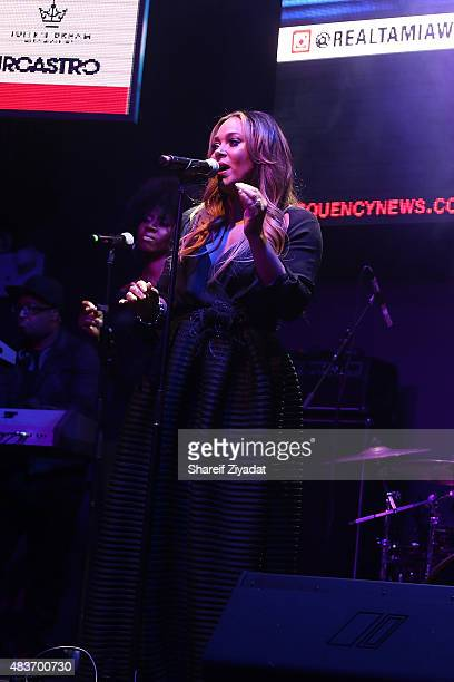 Tamia at Stage 48 on August 11 2015 in New York City