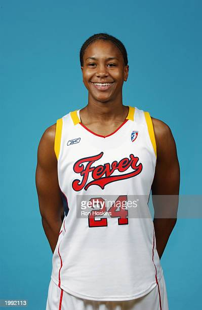Tamika Catchings of the Indiana Fever during the Fever Media Day portrait shoot on May 6 2003 in Indianapolis Indiana NOTE TO USER User expressly...